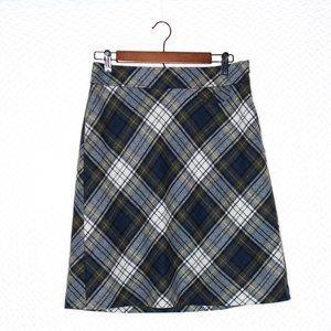 L.L. Bean Tartan Plaid Skirt